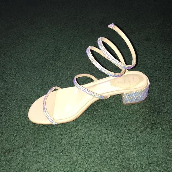 e40ae1cf0 RENÉ Caovilla CLEO Maxi Strass Sandals. M 5b8d93ee5098a0e7d75f389d